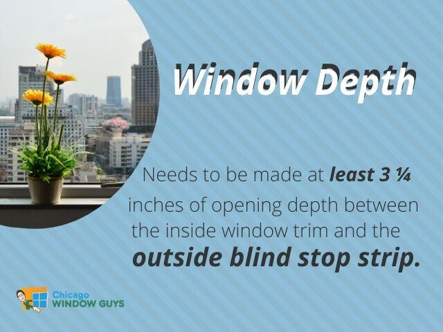 Window Depth
