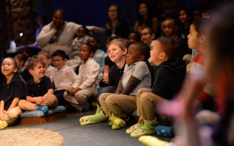Audiences at Children's Theatre Company