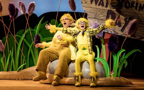 Reed Sigmund and Natalie Tran in 'Dr. Seuss's The Sneetches The Musical' - photo by Dan Norman