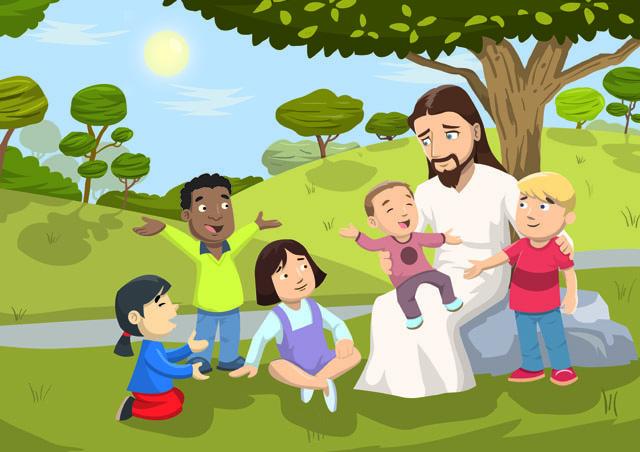 Jesus Loves Little Children Luke 18 15 17
