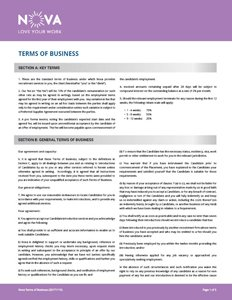 Terms of Business Link