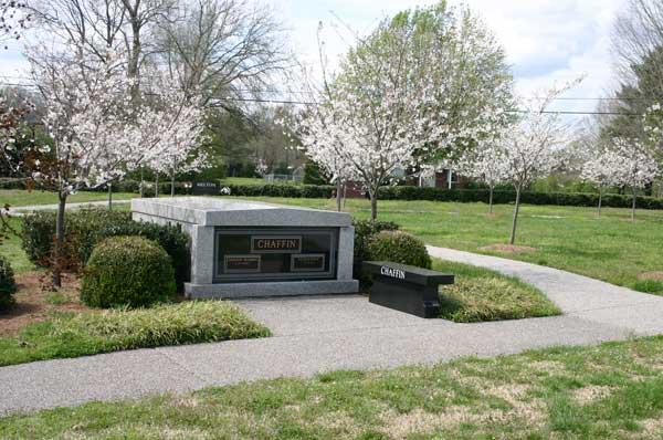 2 crypt mausoleum