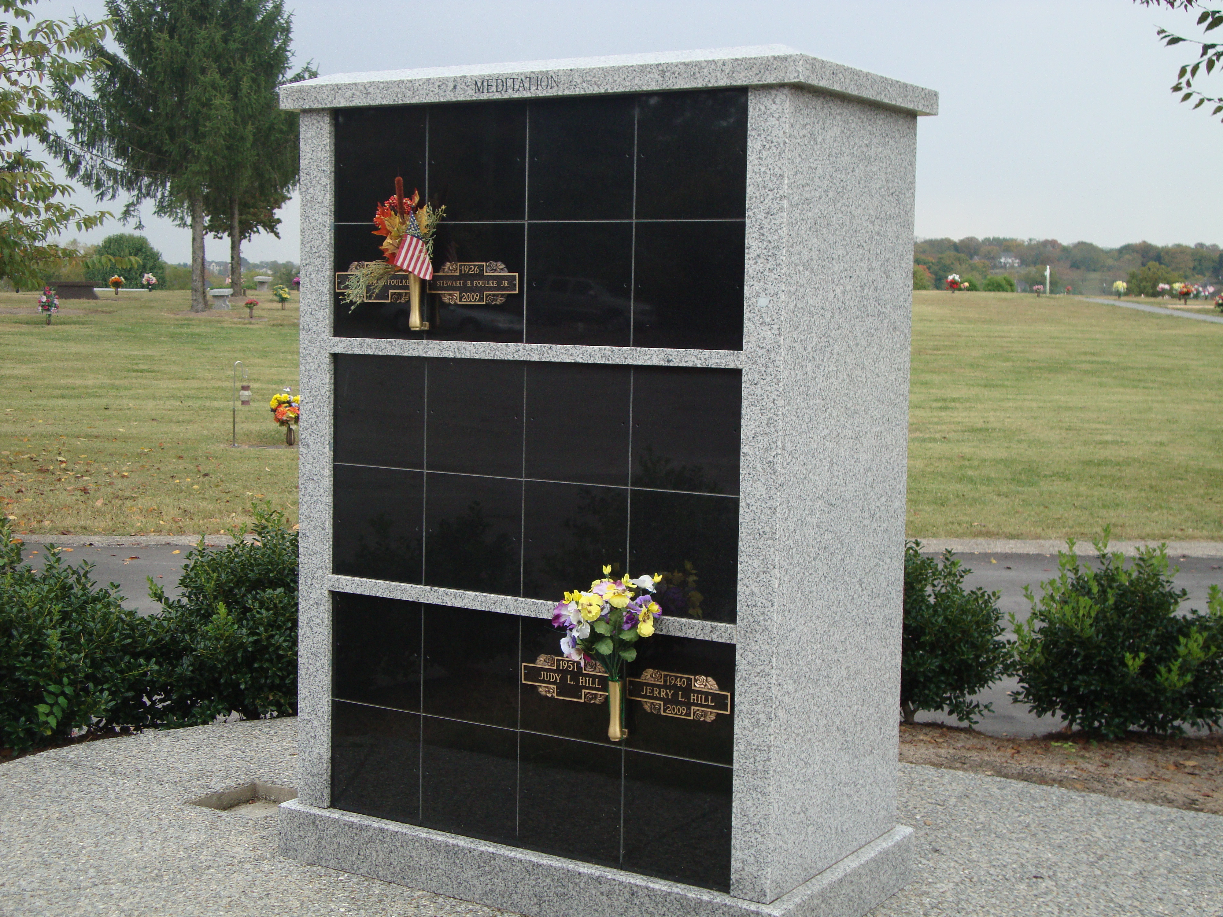 Tower Colubarium in the Cremation Gardens
