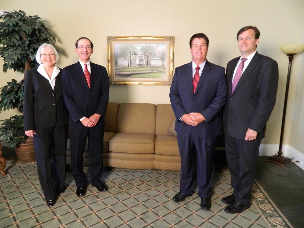 Mary Ann Morgan, Tim Garrett, Bill Gregory and Wayne Slighter