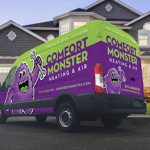 Comfort Monster Van