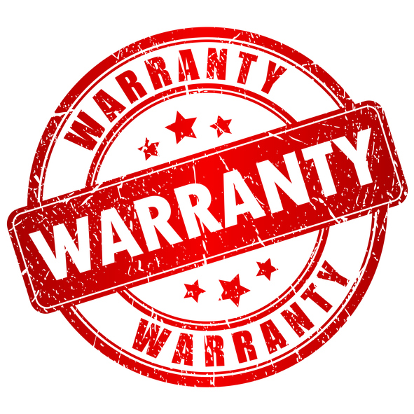 Warranty red stamp