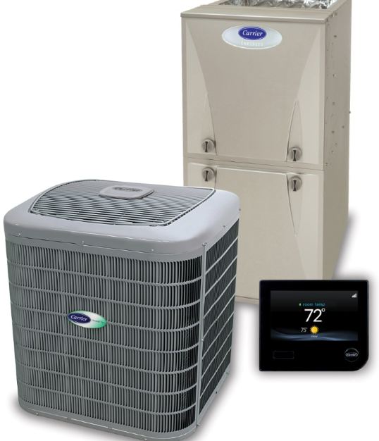 Carrier HVAC equipment