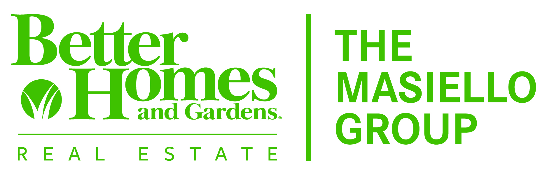 Better Homes And Gardens Real Estate The Masiello Group: homes and gardens logo