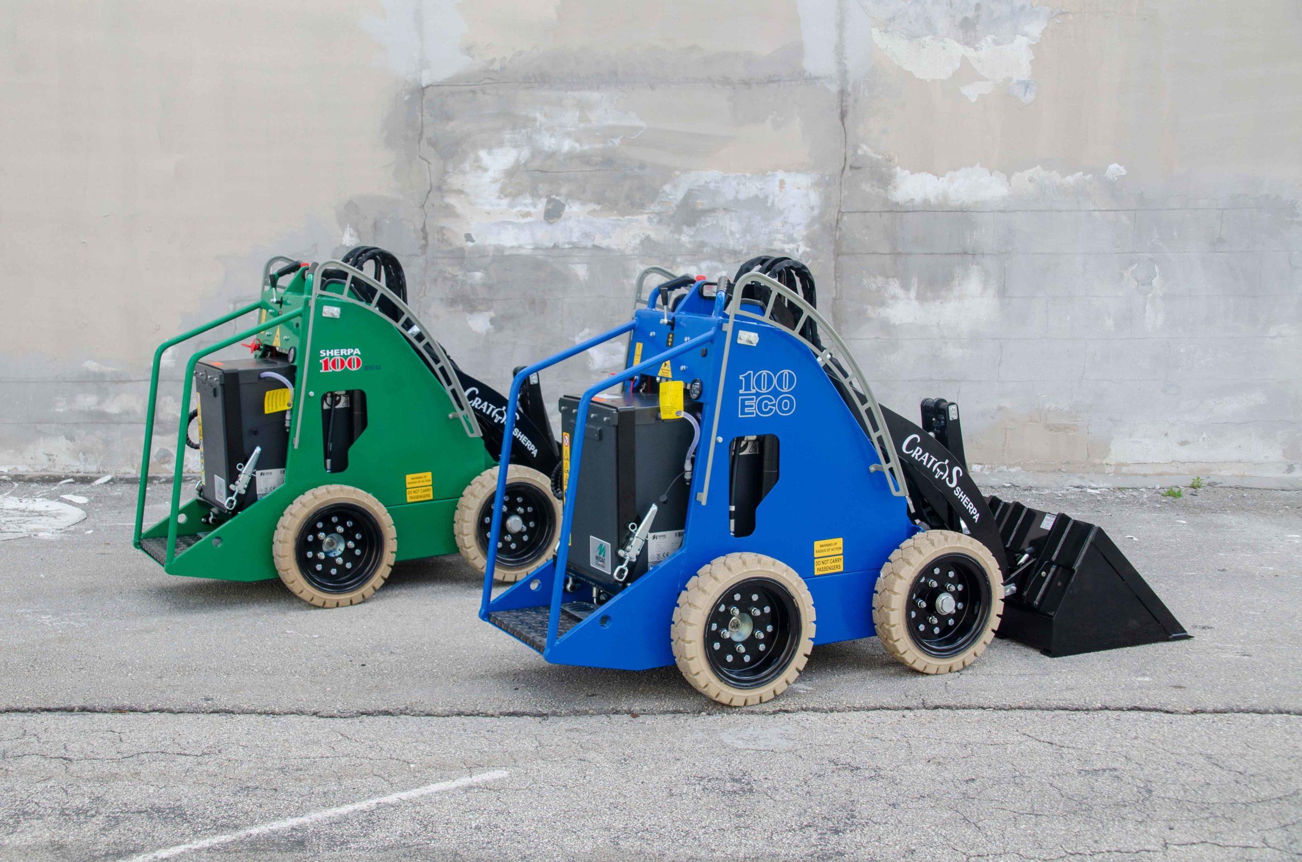 Battery-Powered Mini Skid Steers