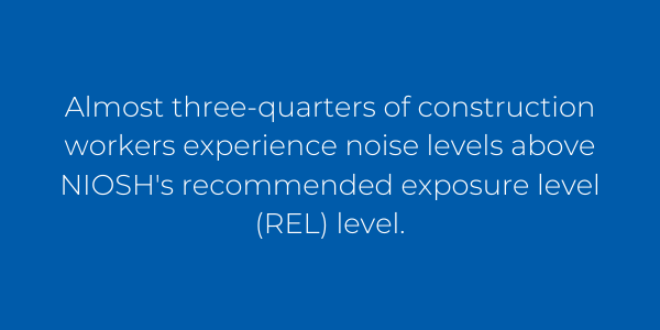 Hearing loss is the most common work-related illness in the U.S.; approximately 22 million workers encounter hazardous noise each year.