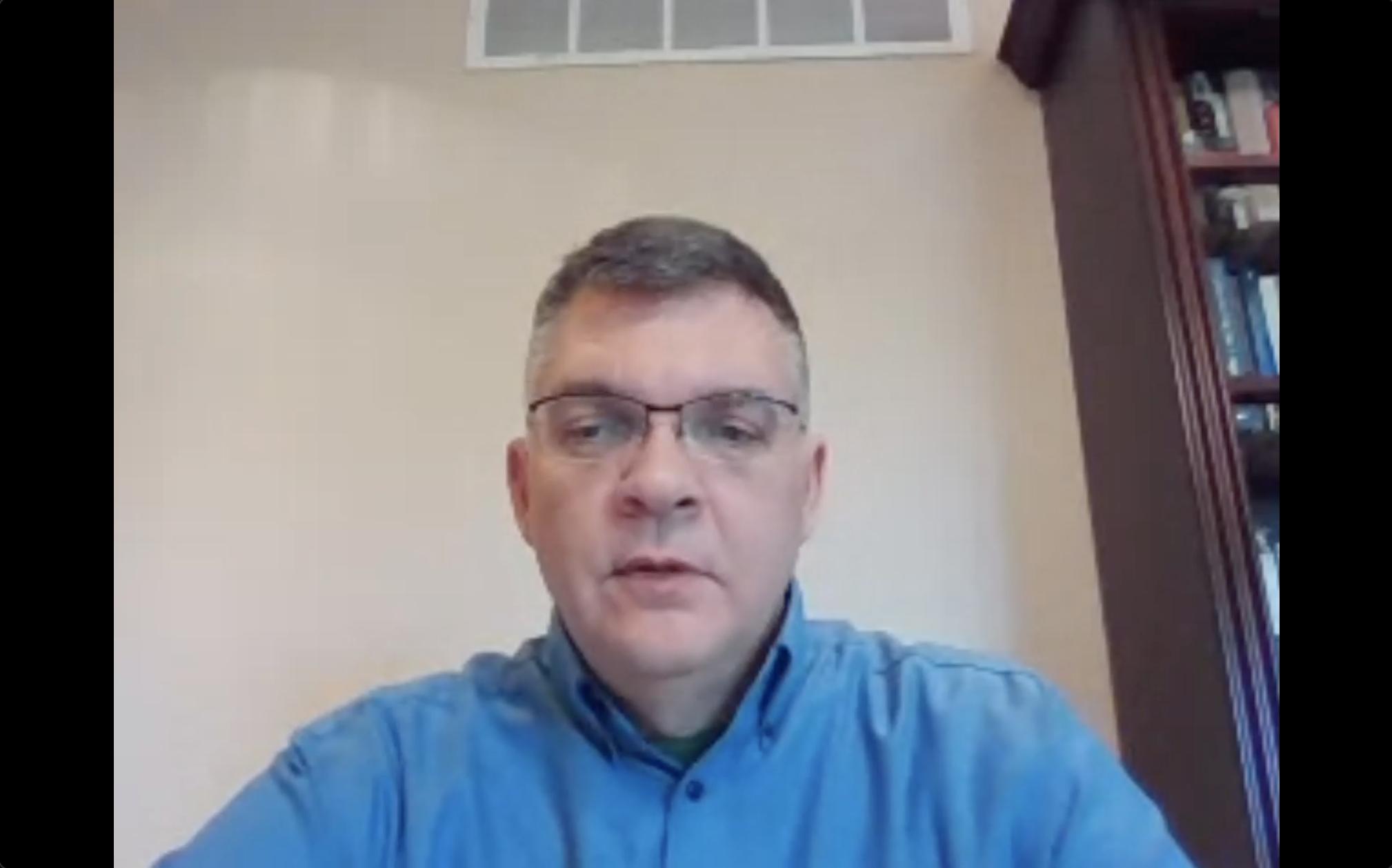 Dr. G Scott Earnest, Associate Director of NIOSH