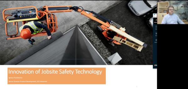 JLG Talks Innovation of Job Site Safety Technology