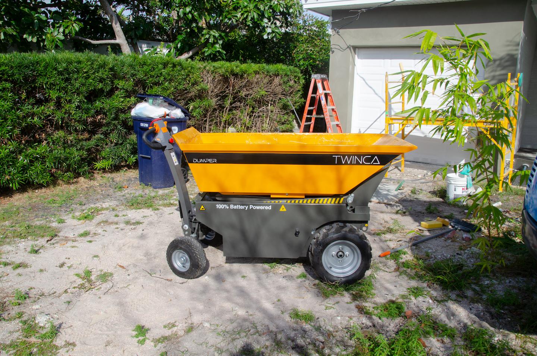 Electric Wheelbarrow increases job site performance