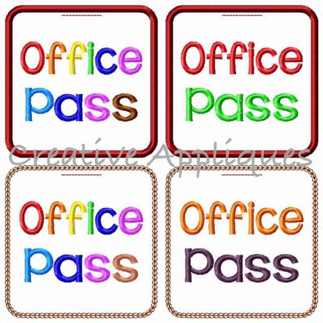 office pass