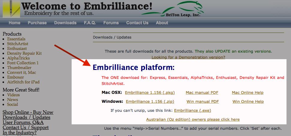 download-embrilliance