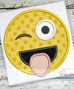 goofy-silly-kooky-joking-emoji-embroidery-applique-design