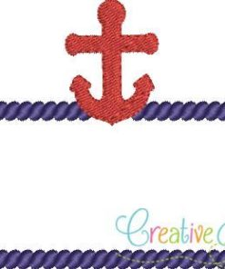 anchor-rope-line-frame-embroidery