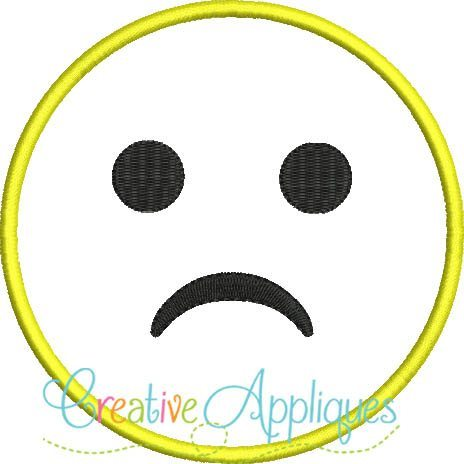emoji-sad-frown-frowning-unhappy-emoji-embroidery-applique-design