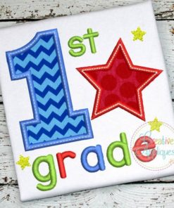 first-1st-grade-star-embroidery-applique-design
