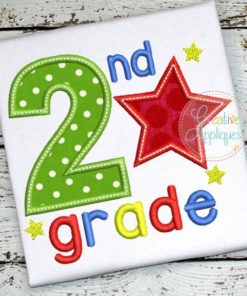 second-2nd-grade-star-embroidery-applique-design