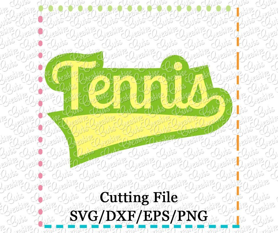 tennis-cutting file-svg-dxf-eps