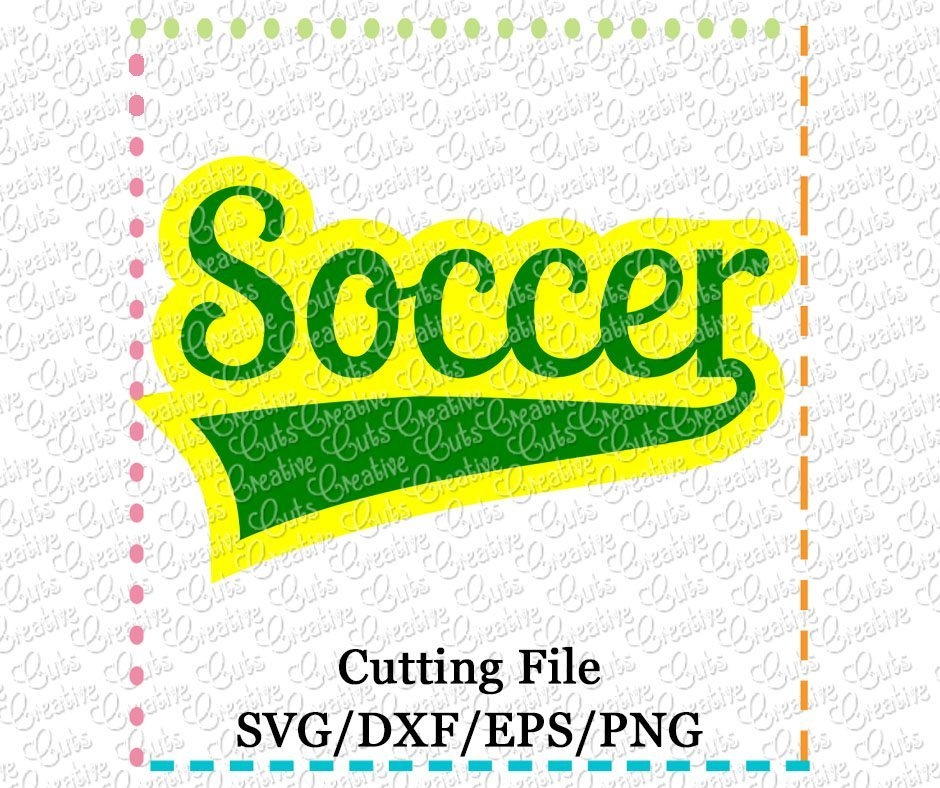 soccer-cutting file-svg-dxf-eps