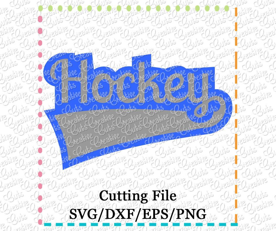 hockey-cutting file-svg-dxf-eps