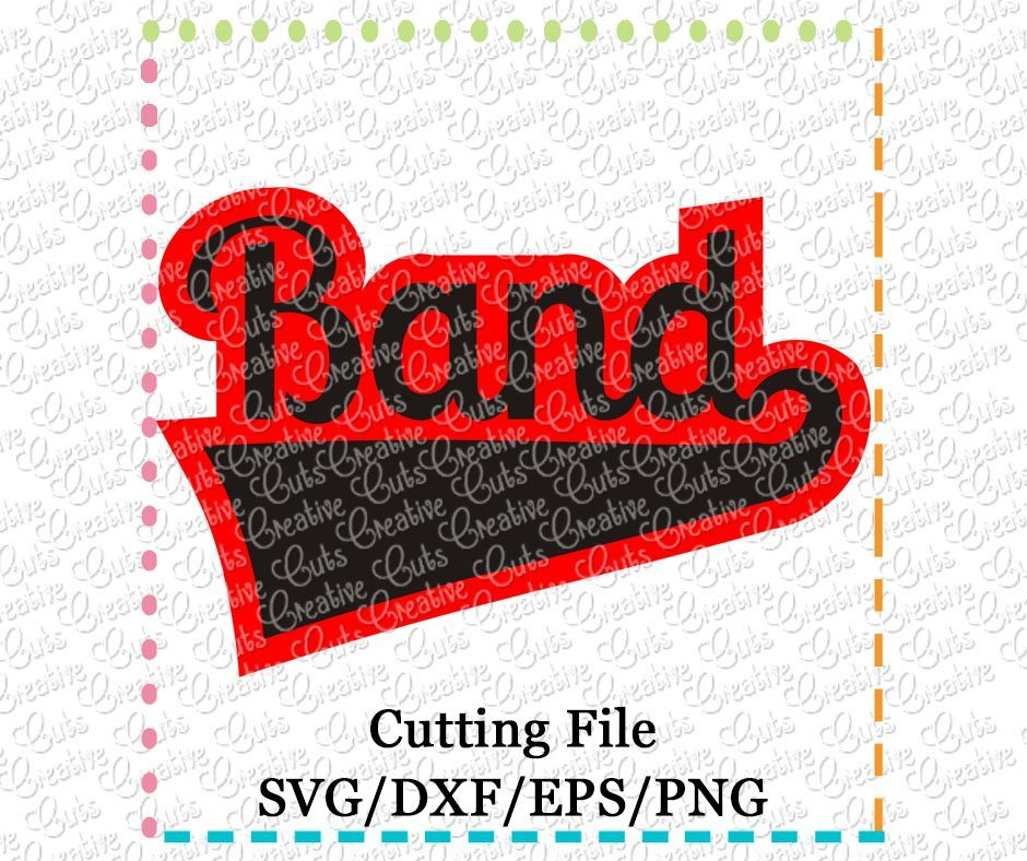 band-cutting file-svg-dxf-eps