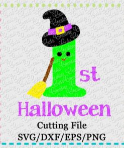 1st-halloween-witch-svg-dxf-eps-cut-cutting-file