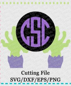 zombie-monogram-svg-dxf-eps-cut-cutting-file