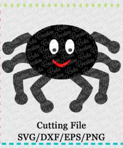spider-svg-dxf-eps-cut-cutting-file