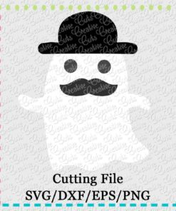 ghost-mustache-svg-dxf-eps-cut-cutting-file