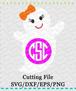 ghost-monogram-svg-dxf-eps-cut-cutting-file
