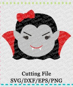 dracula-svg-dxf-cut-cutting-file