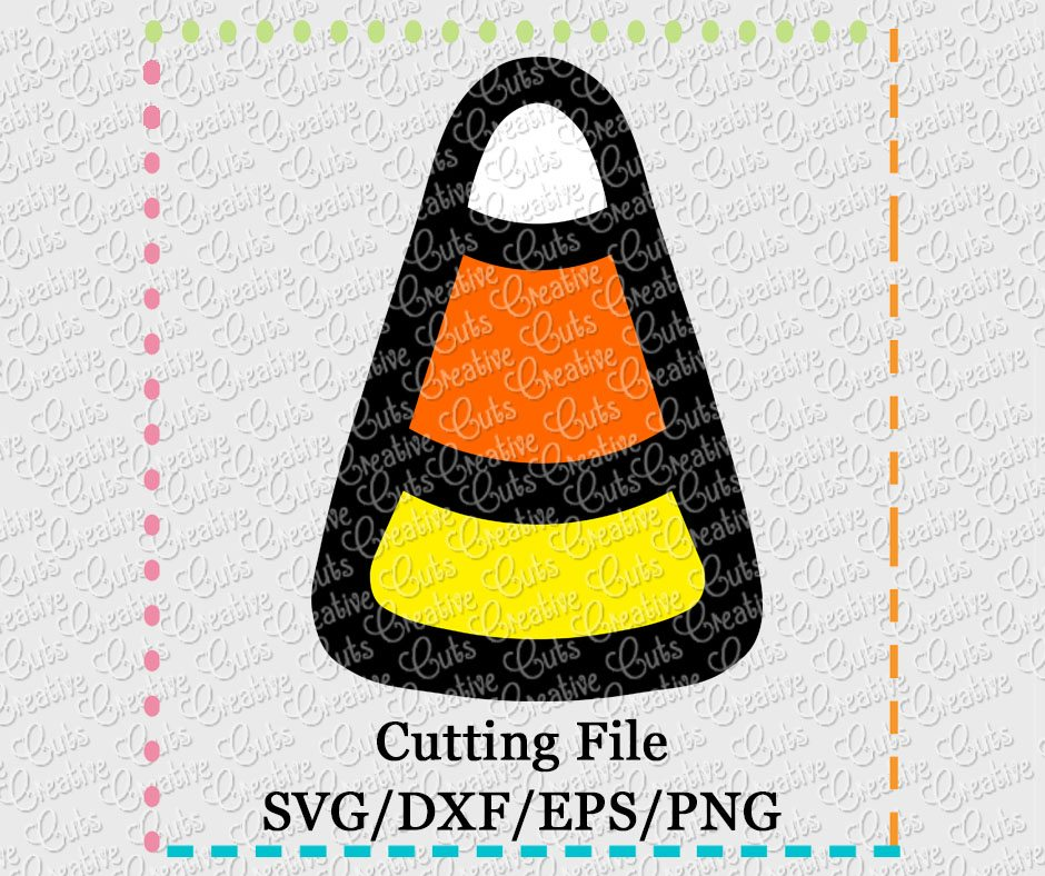 Candy Corn Separated Svg Dxf Eps Png Creative Appliques