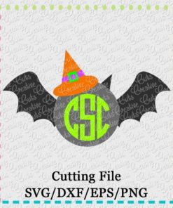 monogram-witch-bat-svg-eps-dxf-cut-cutting-file