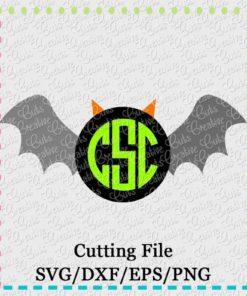 monogram-bat-svg-eps-dxf-cut-cutting-file