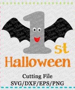 1st-halloween-bat-SVG-cut-cutting-file