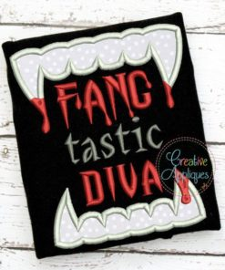 fang-tastic-diva-embroidery-applique-design