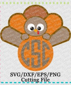 monogram-turkey-svg-cutting-file