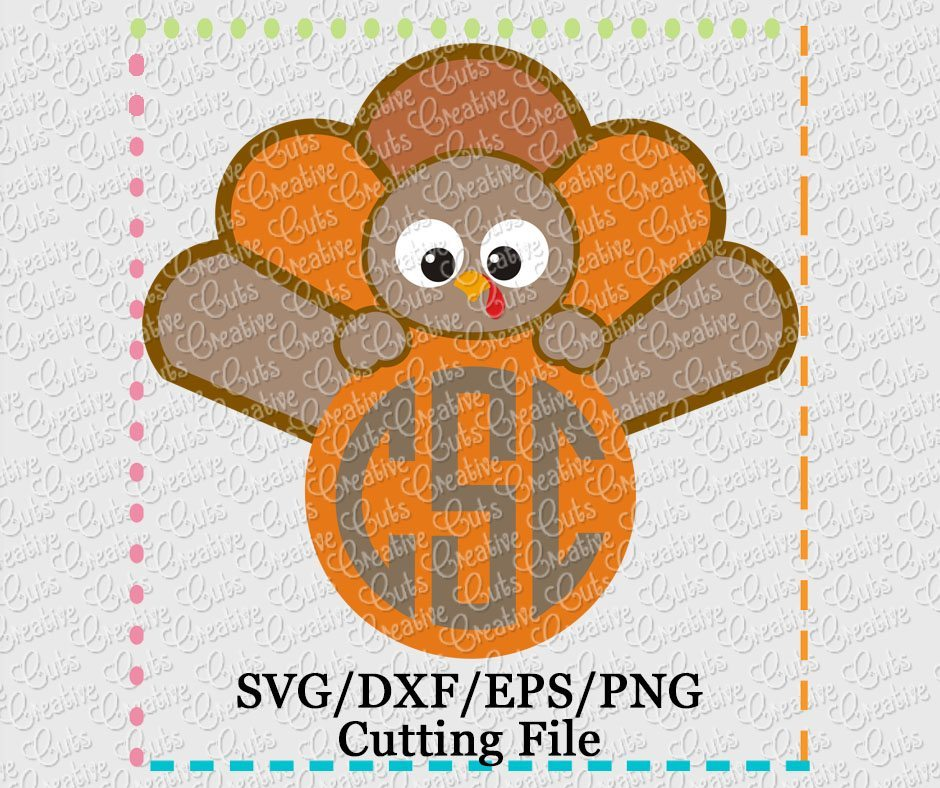 monogram-turkey-svg-cutting-file