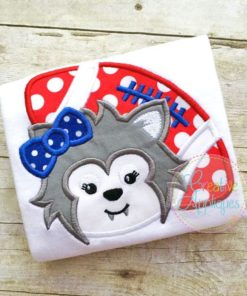 wolf-girl-football-mascot-embroidery-applique