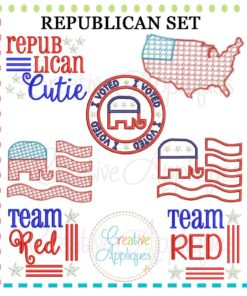 republican-embroidery-applique-set