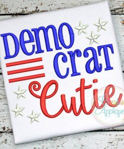 democrat-cutie-embroidery-design