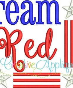 republican-team-red-embroidery-design