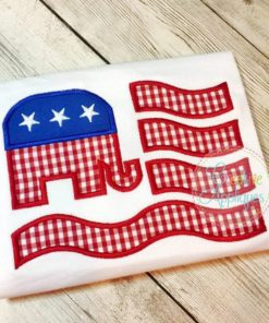 flag-elephant-republican-embroider-applique-design