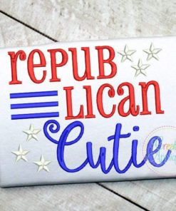 republican-cutie-embroidery-applique-design