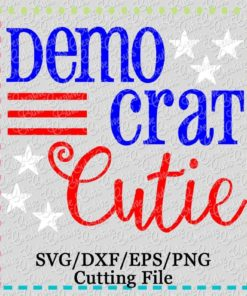 democrat-cutie-svg-cutting-file