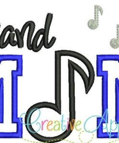band-mom-music-note-embroidery-applique-design