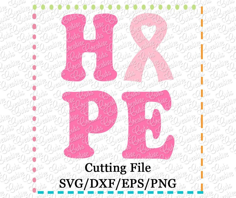 Download Awareness Ribbons Cutting File Crafter Files